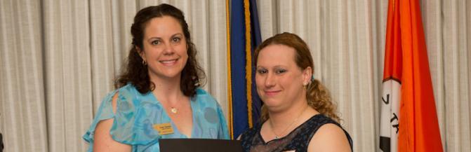 WGS Student Award Winner, Morgan Morningstar
